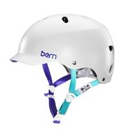 Шлем для водных видов спорта Bern женский Lenox H2O Satin Wht S18, фото 1