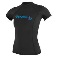 Гидромайка женская O'Neill короткий рукав WMS BASIC SKINS S/S RASH GUARD BLACK S18, фото 1