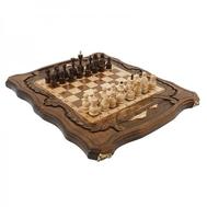 Шахматы + Нарды резные c Араратом 40, Haleyan, фото 1