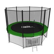 Уличный батут для дачи UNIX LINE 8 ft OUTSIDE с сеткой (Green), фото 1