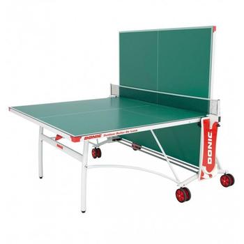Теннисный стол DONIC OUTDOOR ROLLER DE LUXE GREEN, фото 2