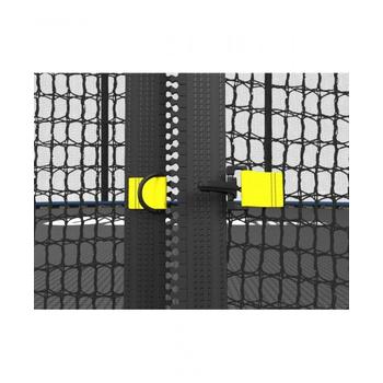 Большой батут с защитной сеткой UNIX LINE 12ft INSIDE Синий, фото 12