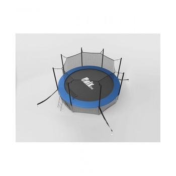 Большой батут с защитной сеткой UNIX LINE 12ft INSIDE Синий, фото 3