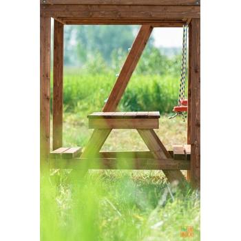 Модуль ВЫШЕ ВСЕХ Столик с лавочками, фото 2