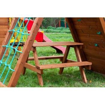 Модуль ВЫШЕ ВСЕХ Столик с лавочками, фото 5