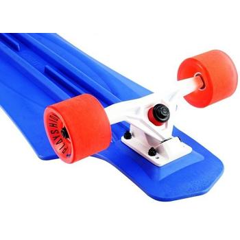Лонгборд пластиковый PLAYSHION FS-PL001B (Синий), фото 6